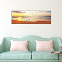 Pintura de pared con patron de paisley sin marco