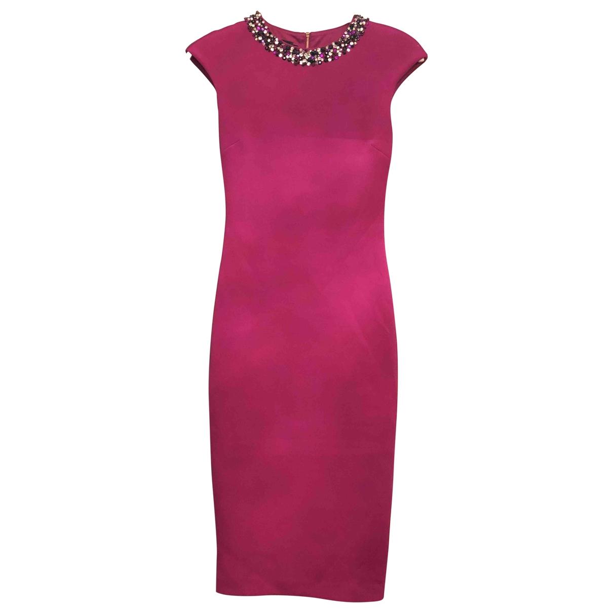 Ted Baker \N Pink dress for Women 36 FR