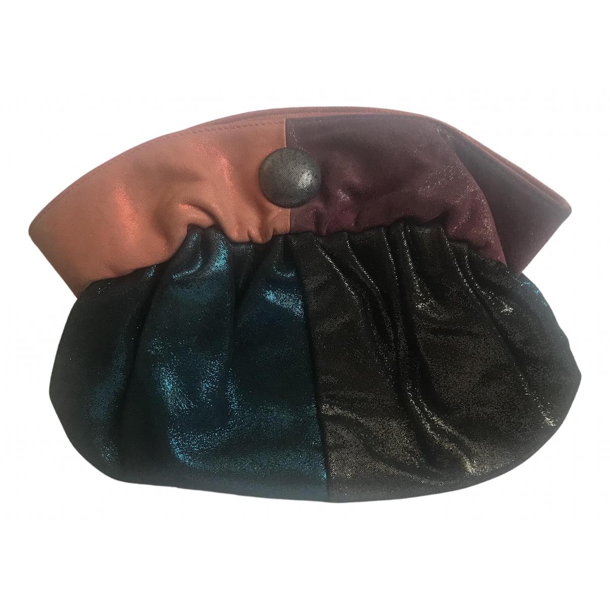 By Malene Birger \N Black Cloth Clutch bag for Women \N
