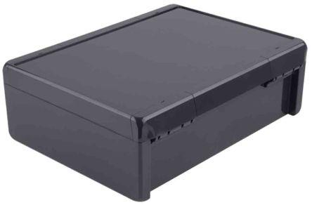 Bopla Bocube, Graphite Grey Polycarbonate Enclosure, IP66, IP68, Flanged, 284 x 364 x 120mm