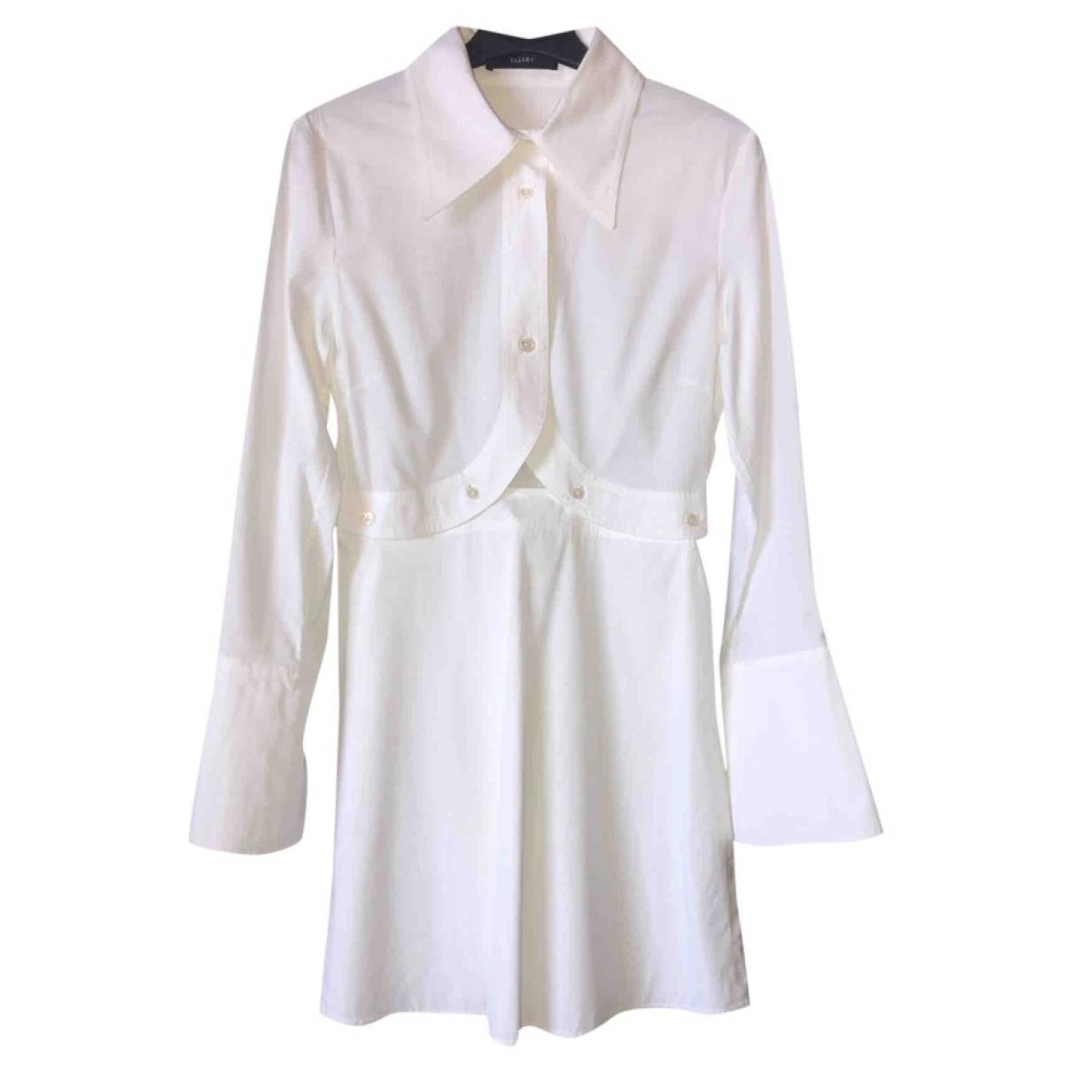 Ellery - Top   pour femme en coton - blanc