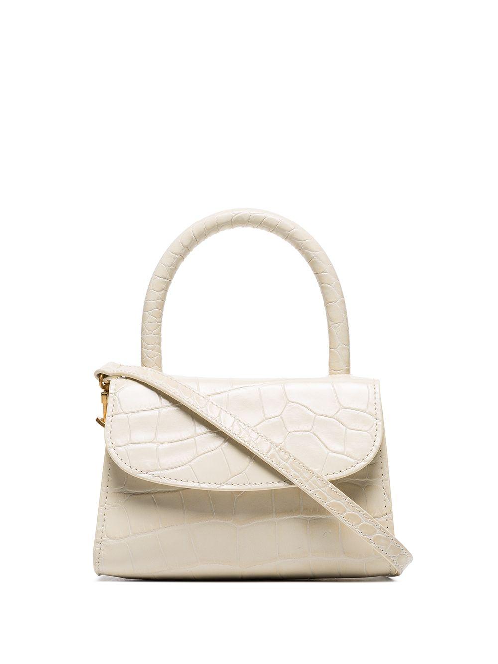 Croco Embossed Mini Bag