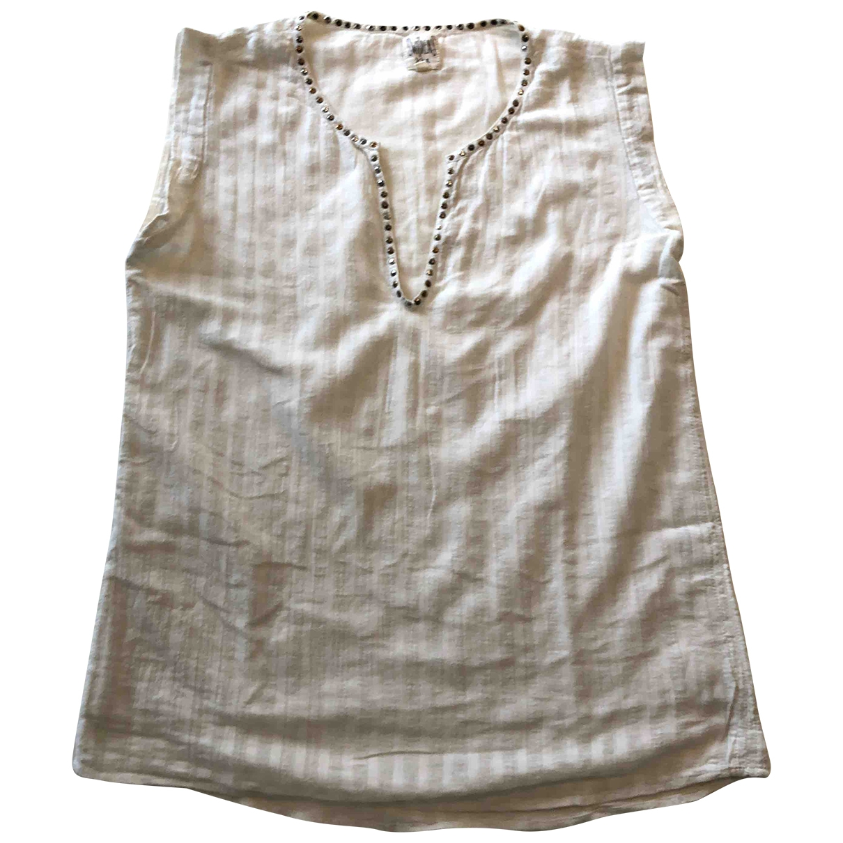 Swildens \N White Cotton  top for Women 0 0-5