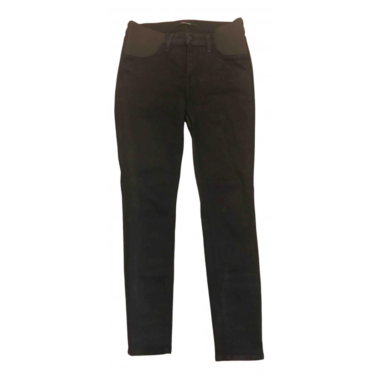 J Brand \N Black Cotton - elasthane Jeans for Women 28 US