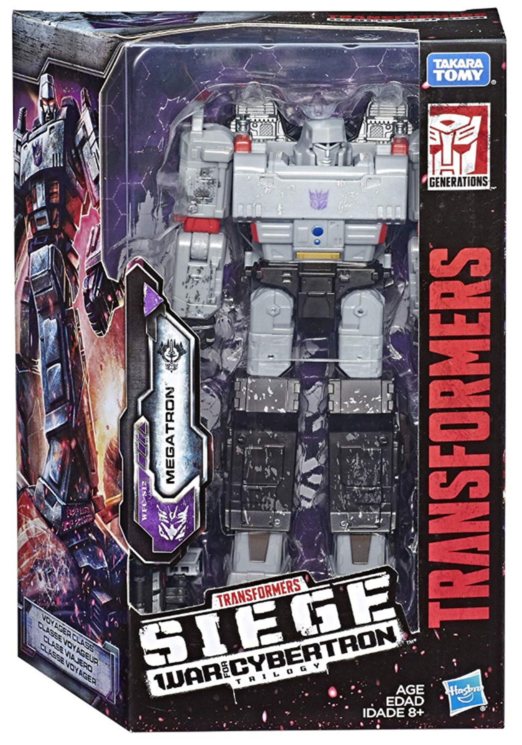 Transformers Generations War for Cybertron: Siege Voyager Megatron Action Figure
