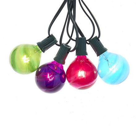 Kurt Adler Clear Indoor/Outdoor String Lights, One Size , Multiple Colors