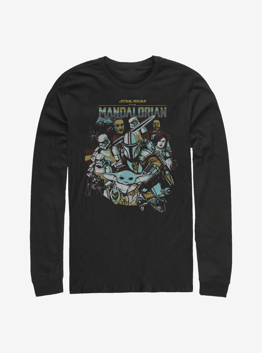 Star Wars The Mandalorian In Works Long-Sleeve T-Shirt