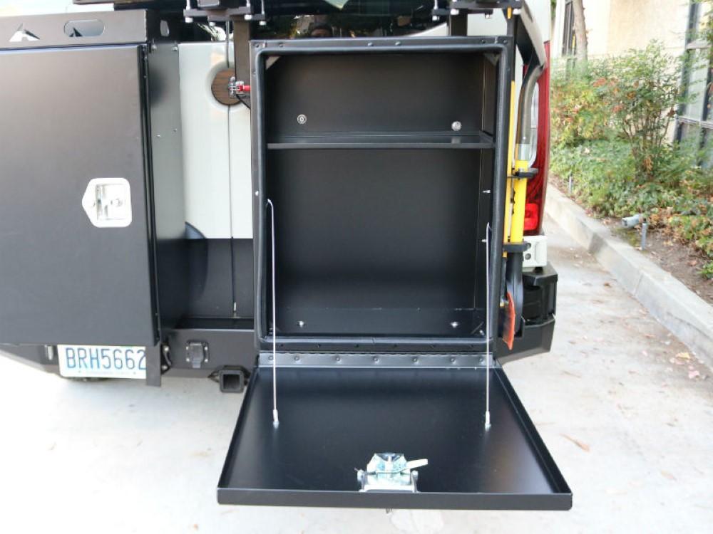 Aluminess 210310 Deluxe Box w/ Drop Down Door