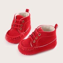 Baby Jungen Sneakers mit Band vorn