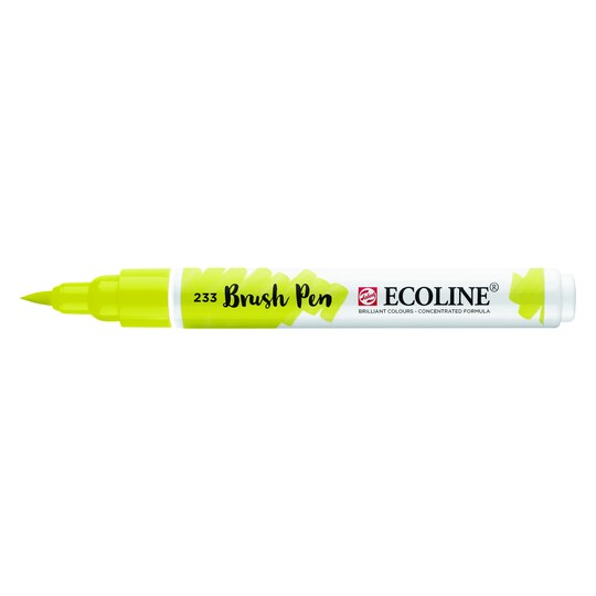 Ecoline® Liquid Watercolour Brush Pen By Royal Talens in 233 Chartreuse   Michaels®