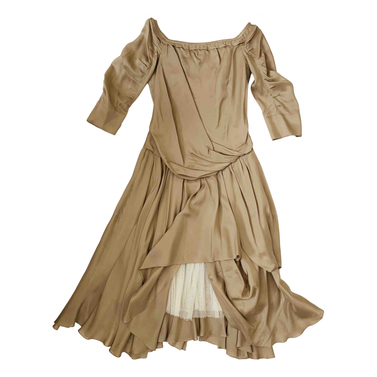 Louis Vuitton \N Kleid in Seide