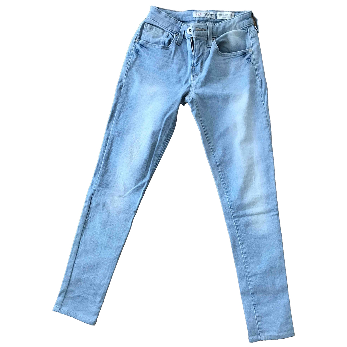 Guess \N Blue Cotton Jeans for Women 26 US
