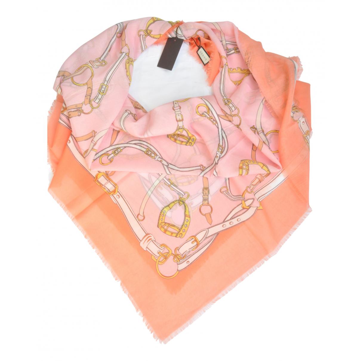 Gucci \N Orange Silk scarf for Women \N
