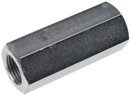RS PRO Steel Hydraulic Non-Return Valve, G 1/2, 55L/min