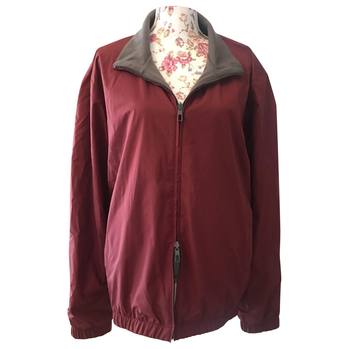Loro Piana \N Burgundy Cashmere jacket  for Men 56 IT