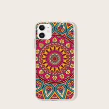 Funda de iphone con estampado de mandala