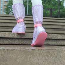 1 Paar Regenstiefel Abdeckung mit Punkten Muster