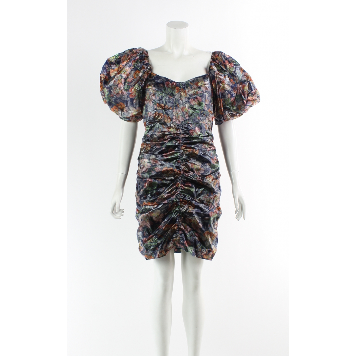 Isabel Marant \N Kleid in  Orange Polyester