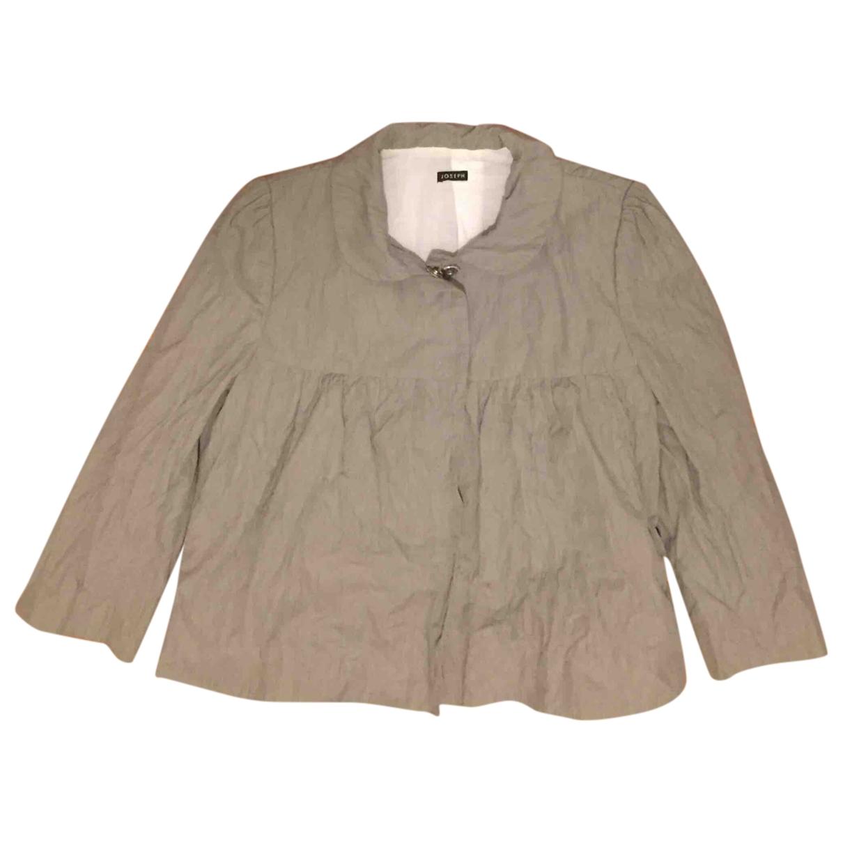 Joseph - Veste   pour femme en coton - gris