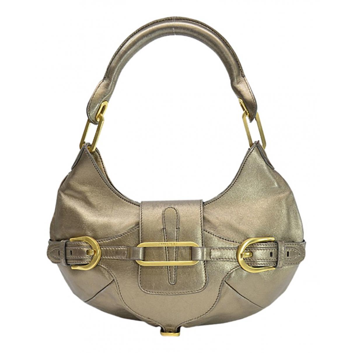 Jimmy Choo \N Handtasche in  Gold Leder