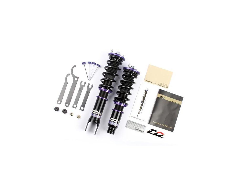 D2 Racing RS Series Coilover Kit  Honda Civic 2012-2013