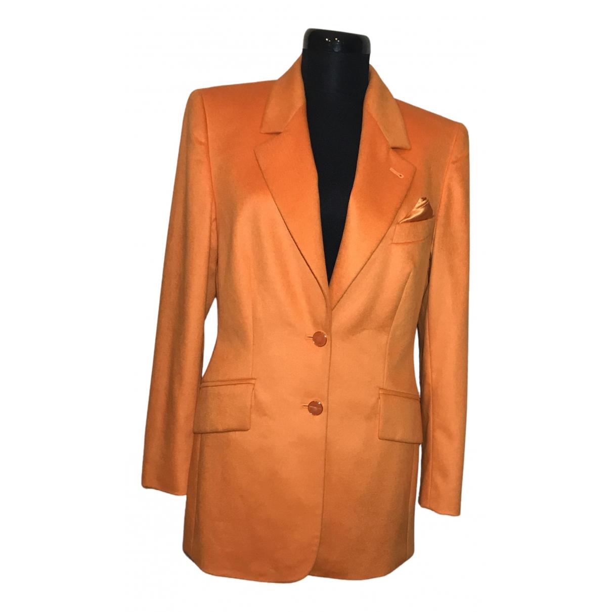 Escada - Veste   pour femme en laine - orange