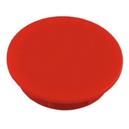 Sifam Potentiometer Knob Cap, 15mm Knob Diameter, Red, For Use With Collet Knob (10)