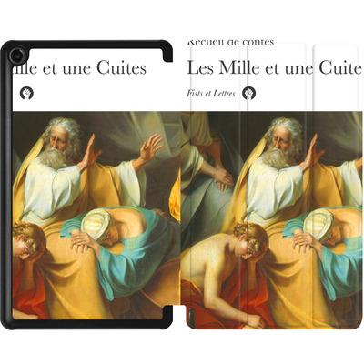 Amazon Fire 7 (2017) Tablet Smart Case - Mille Et Une Cuites von Fists Et Lettres