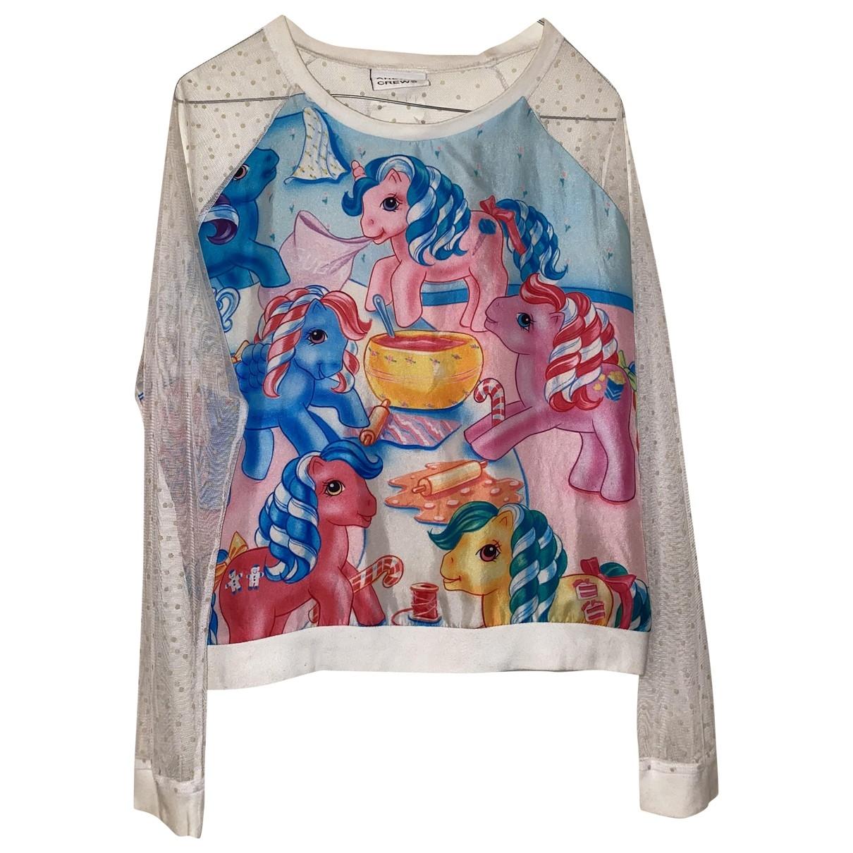 Andrea Crews \N Blue Silk Knitwear for Women 32 FR
