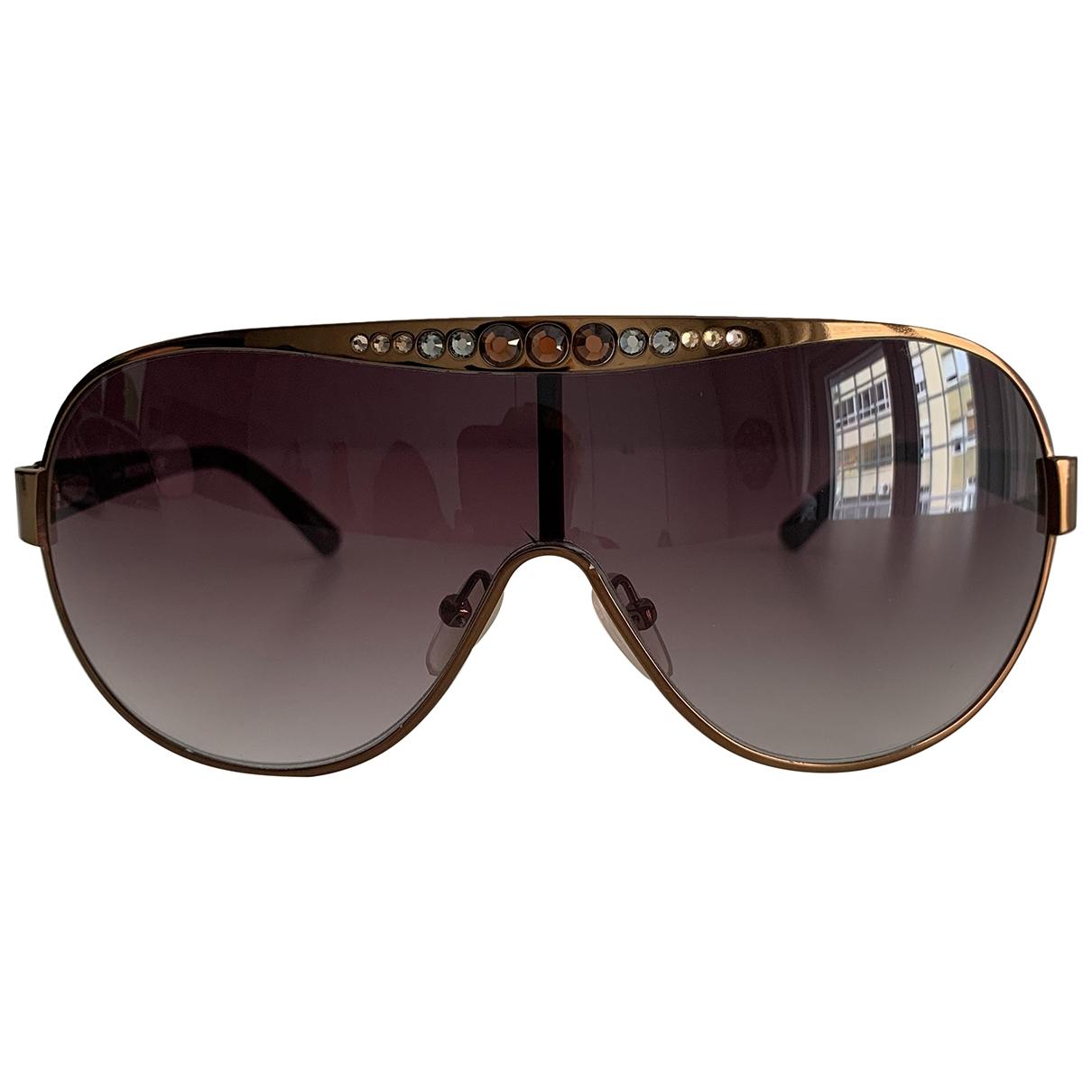 Missoni \N Sonnenbrillen in  Braun Metall