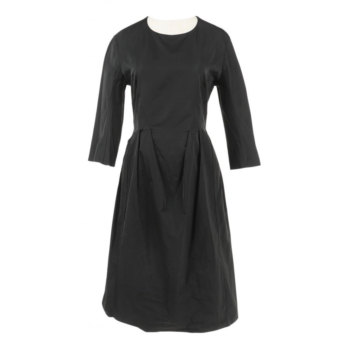 Jil Sander \N Kleid in  Schwarz Polyester