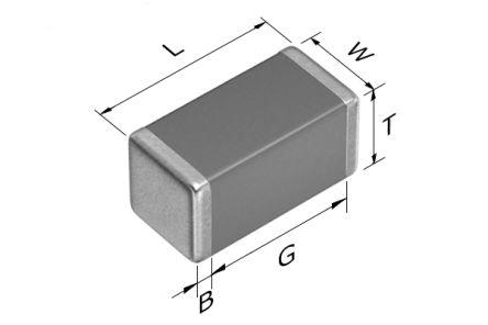 TDK 0402 (1005M) 68pF Multilayer Ceramic Capacitor MLCC 50V dc ±5% SMD CGA2B2NP01H680J050BA (10000)