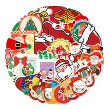 50pcs Christmas Cartoon Sticker