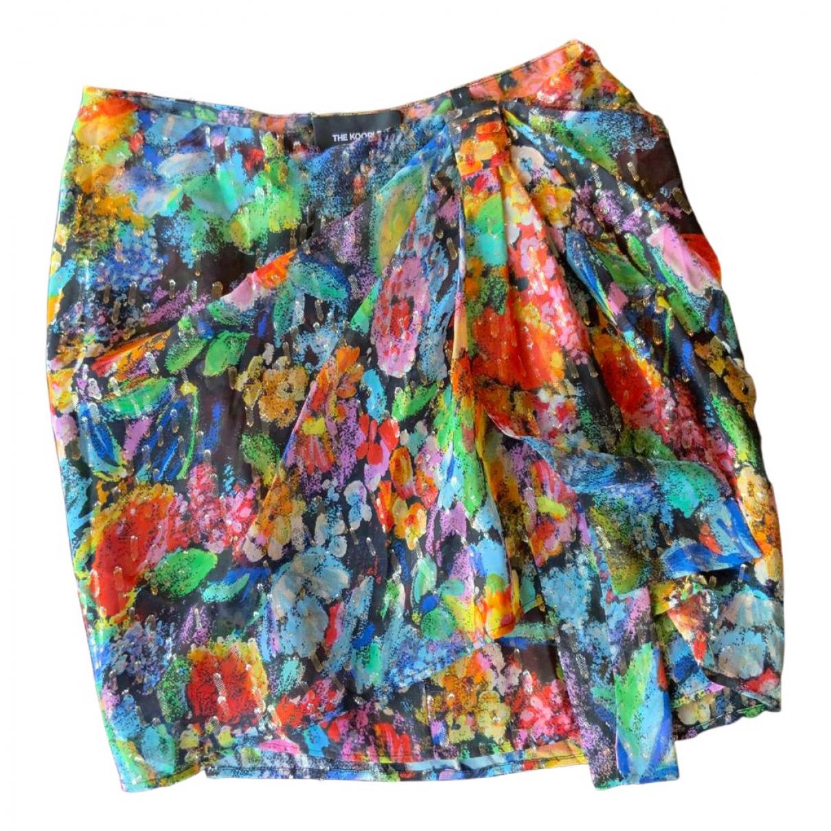 The Kooples Fall Winter 2019 Multicolour Silk skirt for Women 1 0-5