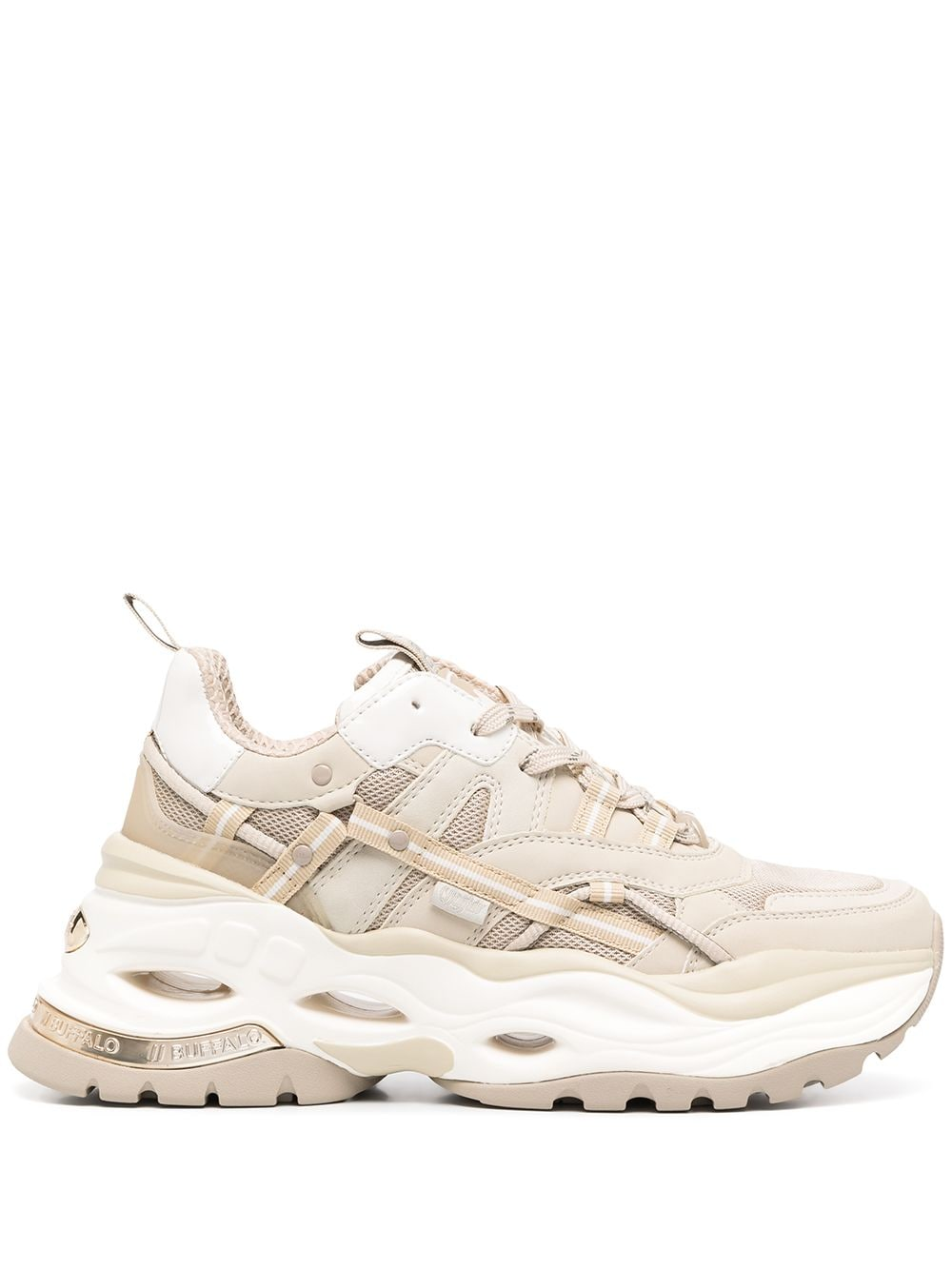 Leather Chunky Sneakers