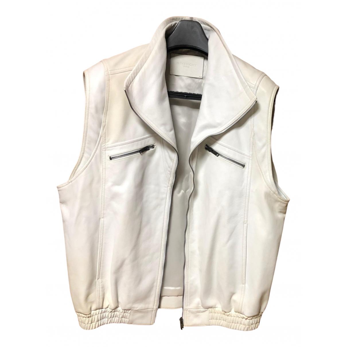 Givenchy \N Pullover.Westen.Sweatshirts  in  Weiss Leder
