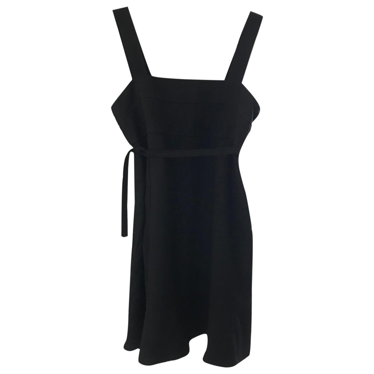 Christian Lacroix \N Black Wool dress for Women 40 FR