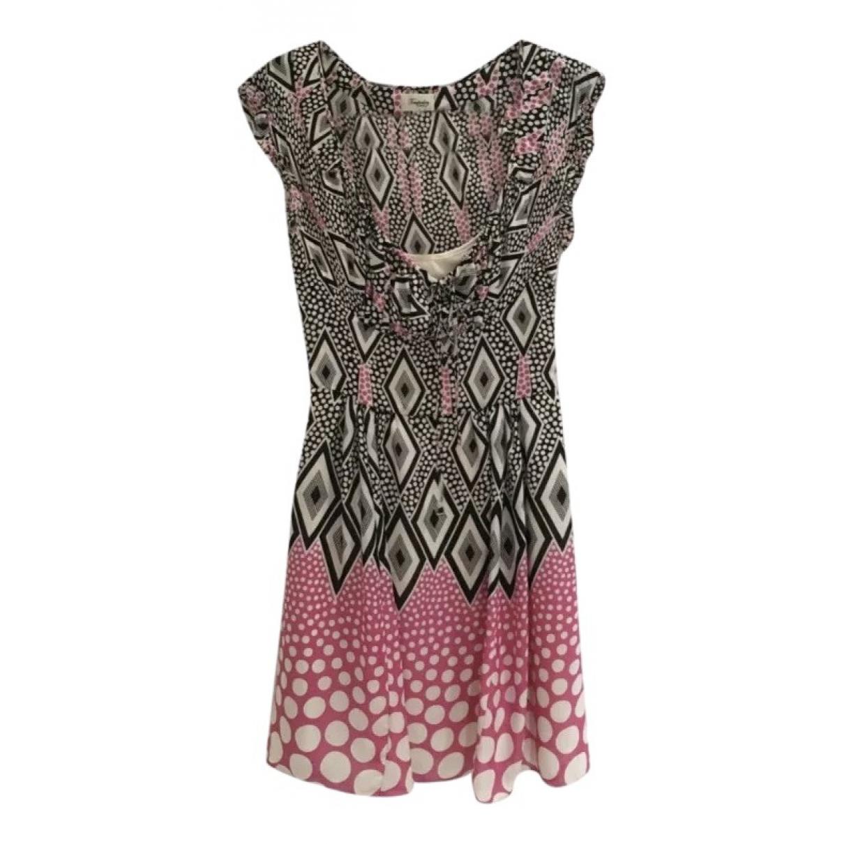 Temperley London \N Multicolour Silk dress for Women 8 UK