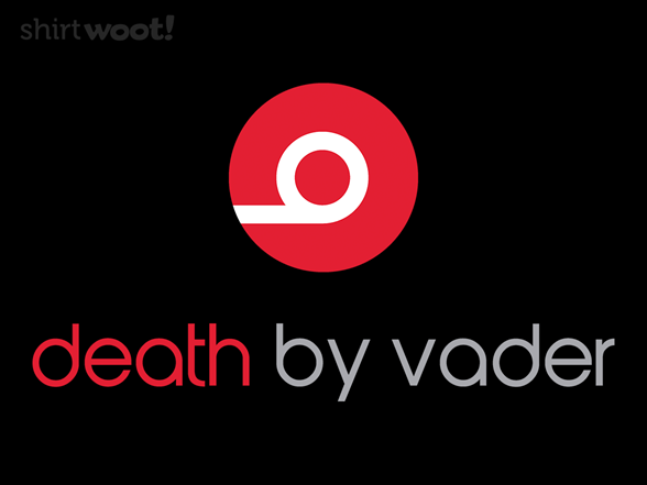 Death By Vader T Shirt