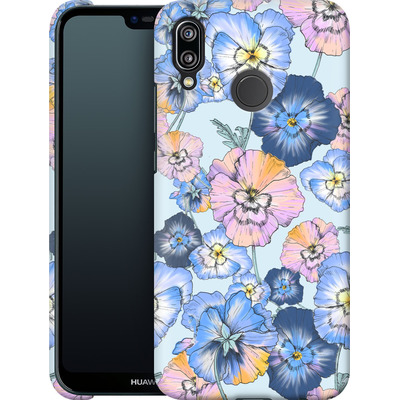 Huawei P20 Lite Smartphone Huelle - Pretty Pansy von Stephanie Breeze