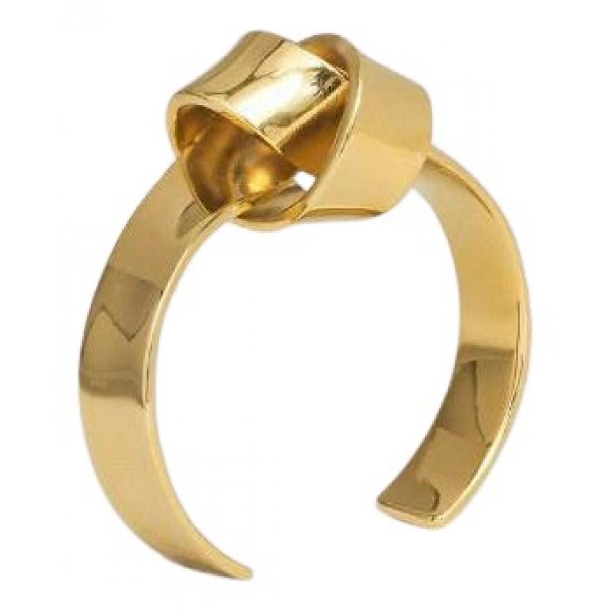 Celine - Bracelet Knot pour femme en metal - dore