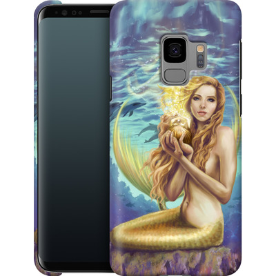 Samsung Galaxy S9 Smartphone Huelle - Selina Fenech - Holding Magic von TATE and CO