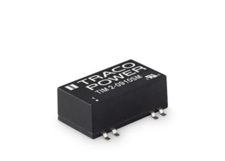 TRACOPOWER TIM 2 2W Isolated DC-DC Converter Surface Mount, Voltage in 18 → 36 V dc, Voltage out 24V dc Medical