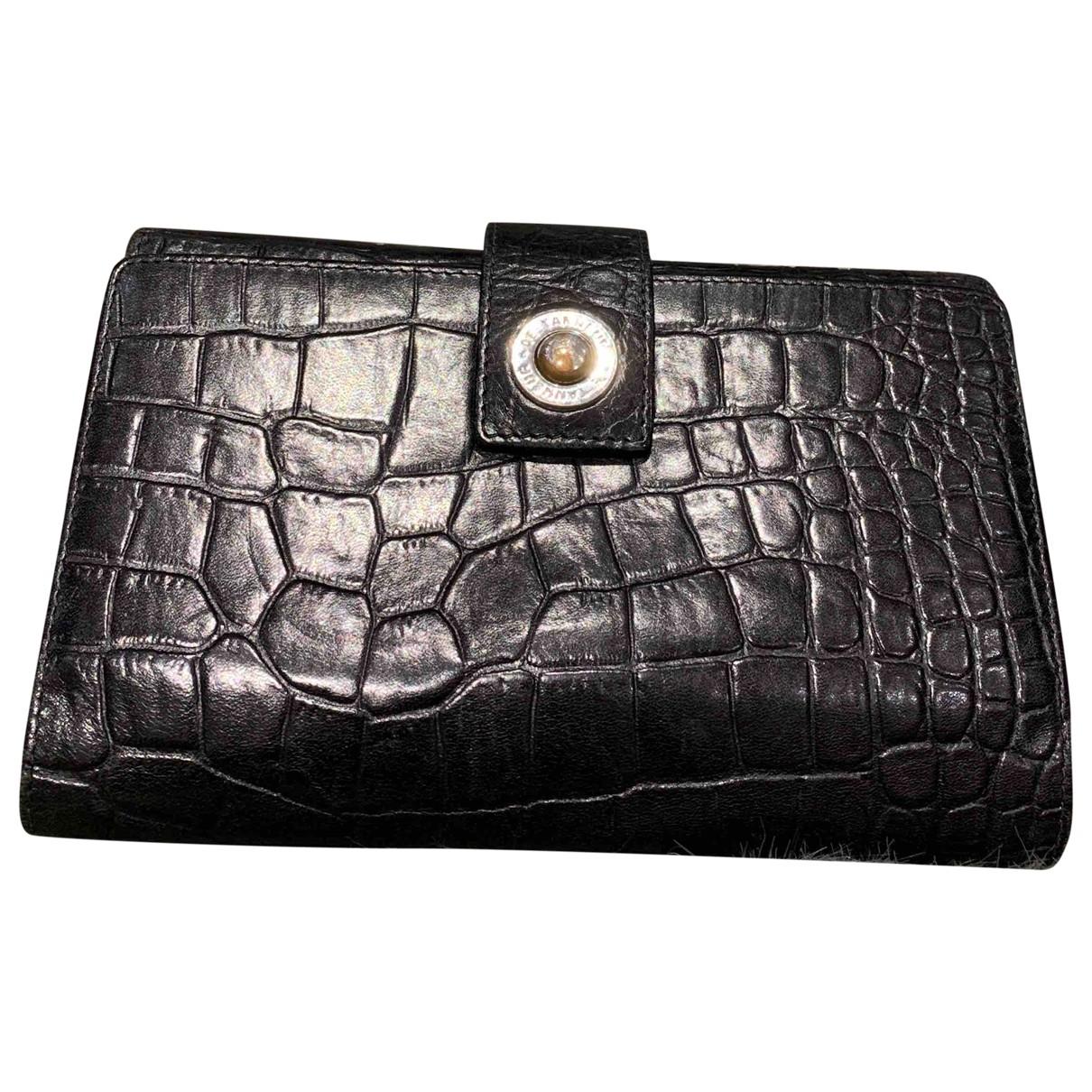 Le Tanneur - Pochette   pour femme en cuir - noir