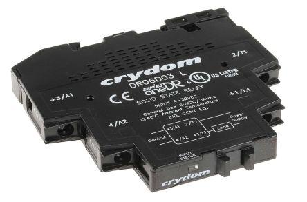 Sensata / Crydom 3 A Solid State Relay, Zero Cross, DIN Rail, 60 V dc Maximum Load