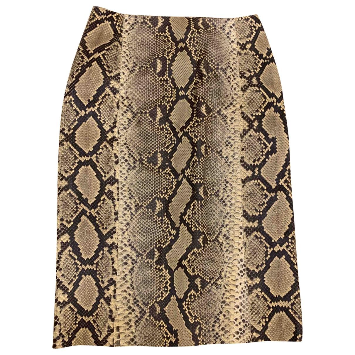 Trussardi \N Python skirt for Women 42 IT