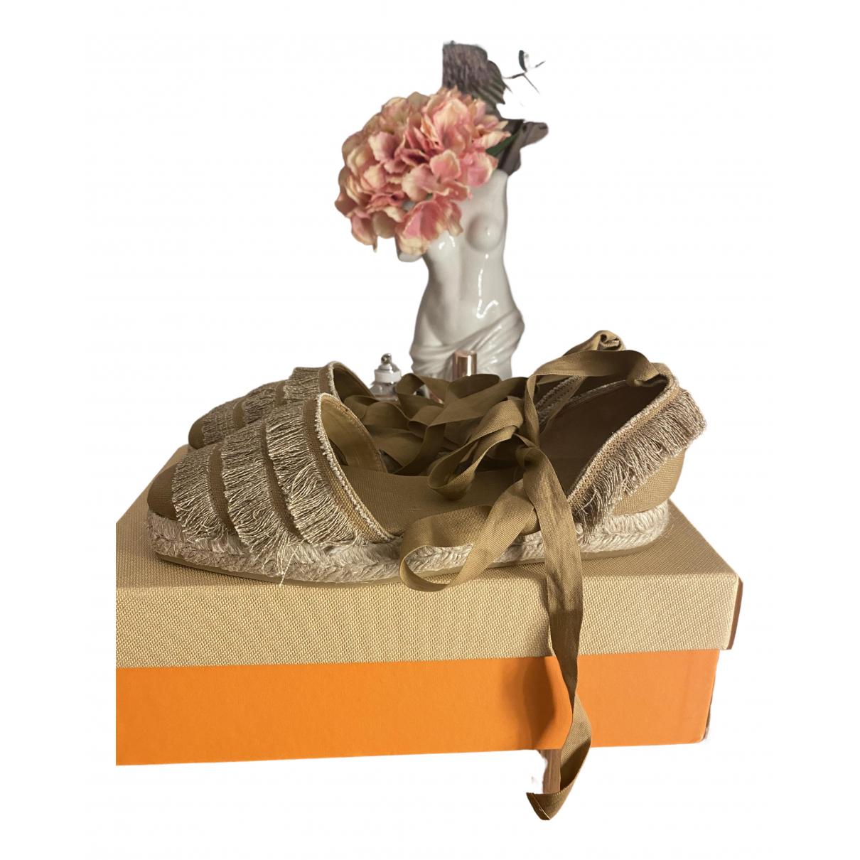 Castaner - Espadrilles   pour femme en toile - camel