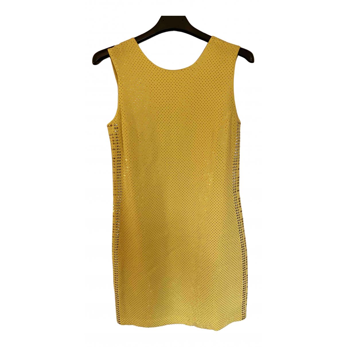 Versace X H&m \N Kleid in  Gelb Synthetik