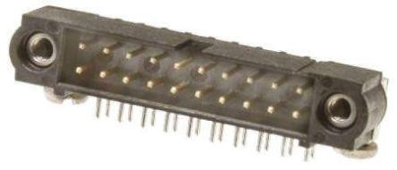HARWIN , Datamate J-Tek, 50 Way, 2 Row, Right Angle PCB Header