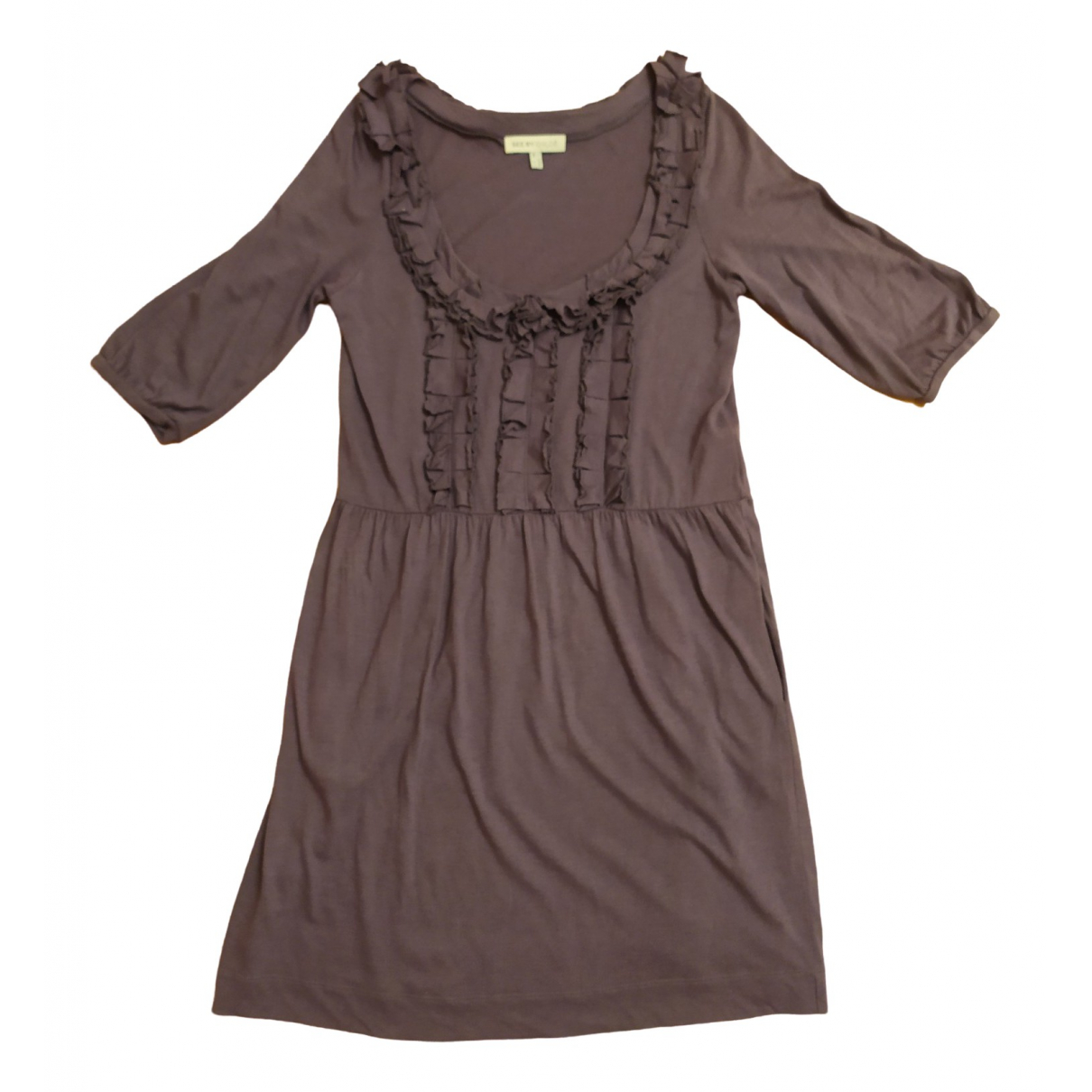 See By Chloé \N Purple Cotton dress for Women 38 FR